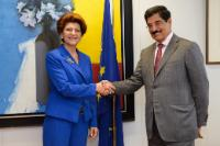 Visit of Hamad Bin Abdulaziz Al-Kuwari, Qatari Minister for Culture, Arts and Heritage, to the EC