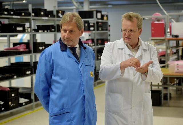 Visit of Johannes Hahn, Member of the EC, to Latvia
