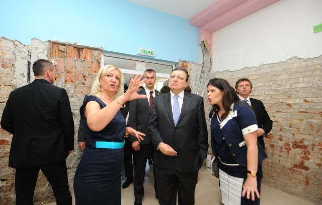 Visit of José Manuel Barroso, President of the EC, to Serbia