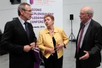 Participation of Andris Piebalgs and Kristalina Georgieva, Members of the EC, at the 2nd Replenishment Conference of the Global Partnership for Education