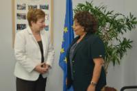 Visit of Hiroute Guebre Sellassie, Special Envoy of the UN Secretary General and Head of Office for the Sahel, to the EC