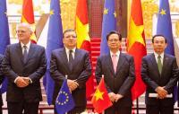 """Illustration of """"Visite de José Manuel Barroso, président de la CE, au Viêt Nam"""""""
