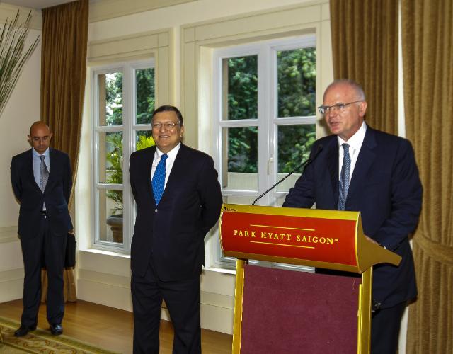 Visite de José Manuel Barroso, président de la CE, au Viêt Nam