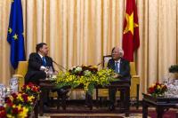 "Illustration of ""Visit of José Manuel Barroso, President of the EC, to Vietnam"""