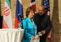 "Illustration of ""Participation of Catherine Ashton, Vice-President of the EC, in the E3/EU+3 nuclear talks in Vienna"""
