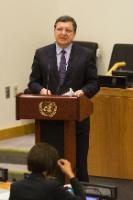 """Illustration of """"Visit of José Manuel Barroso, President of the EC, to the United States"""""""