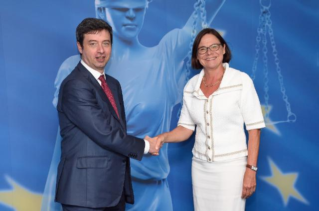 Visit of Andrea Orlando, Italian Minister for Justice, to the EC