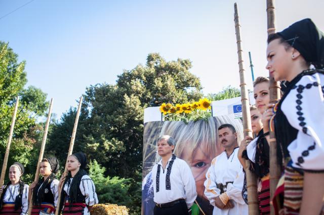 Participation of Dacian Cioloş, Member of the EC, at the RuralFest Bucharest 2014
