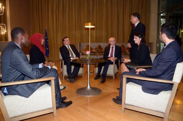 Participation de José Manuel Barroso, président de la CE, au 10e sommet Asie/Europe