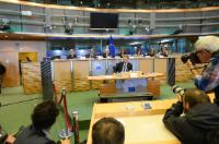 "Illustration of ""Hearing of Günther Oettinger, Member designate of the EC, at the EP"""