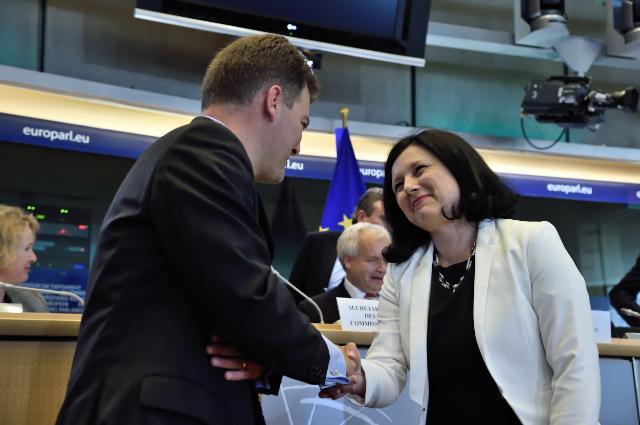 Hearing of Vĕra Jourová, Commissioner designate of the EC