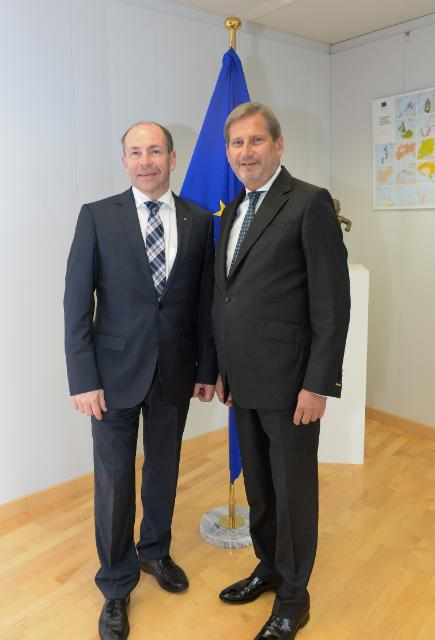 Visit of Maximilian Hiegelsberger, Member of the Government of the Land of Upper Austria, to the EC