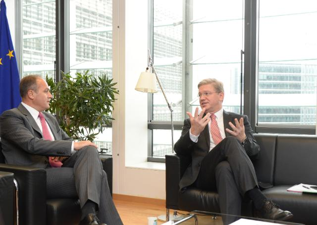 Visit of Enver Hoxhaj, Kosovan Minister for Foreign Affairs, to the EC