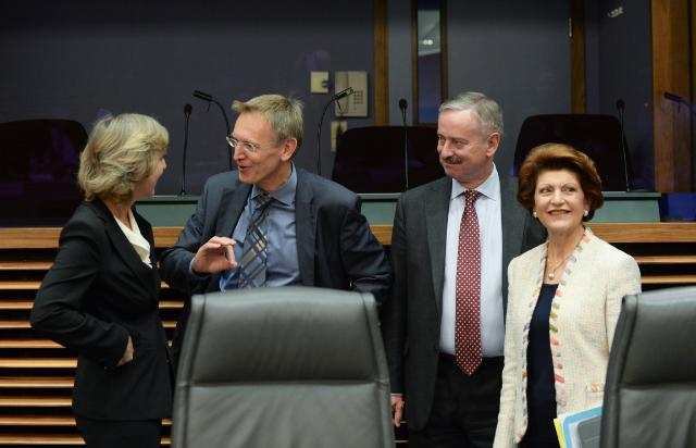 Last weekly meeting of the Barroso II Commission