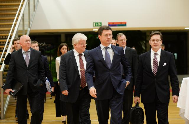 EU/Russia/Ukraine trilateral meeting on gas, Brussels, 29-30/10/2014