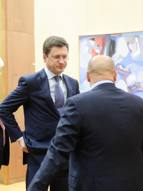 EU/Russia/Ukraine trilateral meeting on gas, Brussels, 29/10/2014