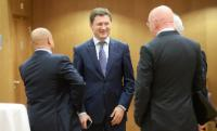 """Illustration of """"EU/Russia/Ukraine trilateral meeting on gas, Brussels, 29/10/2014"""""""