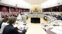 General view of the participants at the EU/Russia/Ukraine trilateral meeting on gas