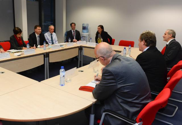 Visit of representatives of the European Trade Union Confederation to the EC