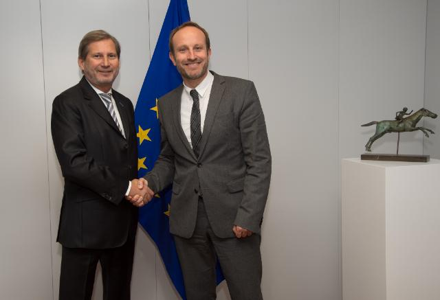 Visit of Martin Lidegaard, Danish Minister for Foreign Affairs, to the EC