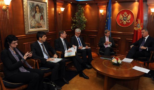 Visit of Johannes Hahn, Member of the EC, to Montenegro