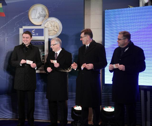 Lithuania's entry into the euro area