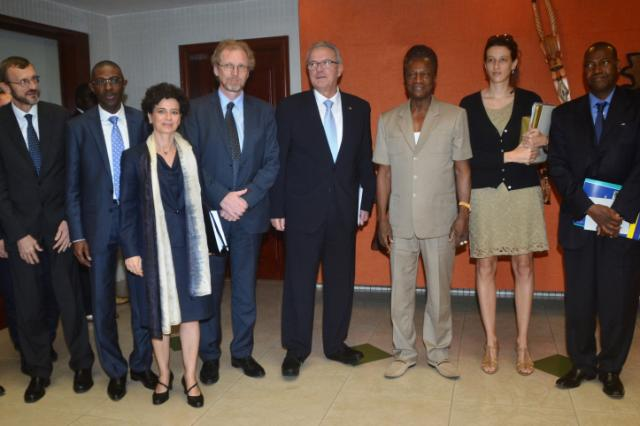 Visit by Neven Mimica, Member of the EC, to Guinea