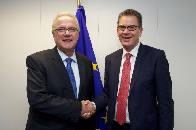 Visit of Gerd Müller, German Federal Minister for Economic Cooperation and Development, to the EC