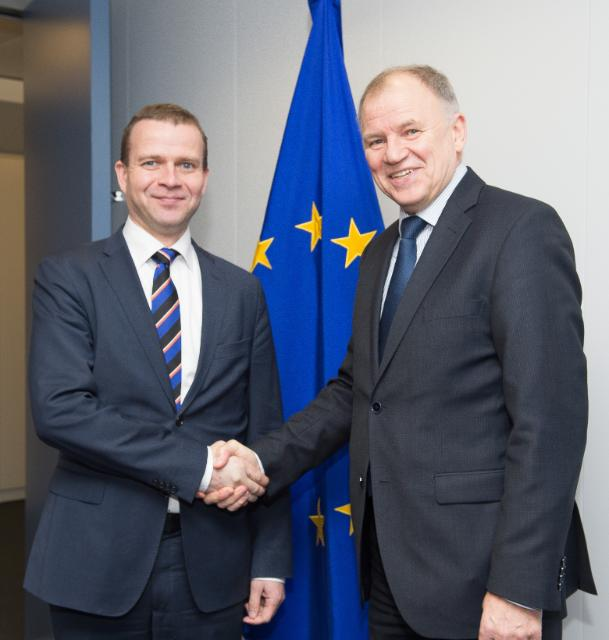 Visit of Petteri Orpo, Finnish Minister for Agriculture and Forestry, to the EC