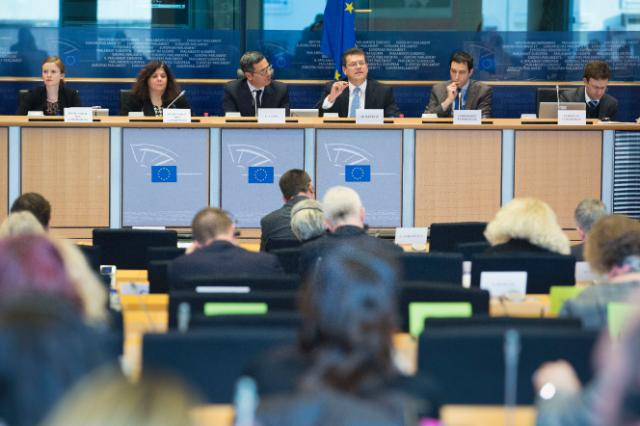 Participation of Maroš Šefčovič, Vice-President of the EC, in a meeting of the ENVI Committee of the EP