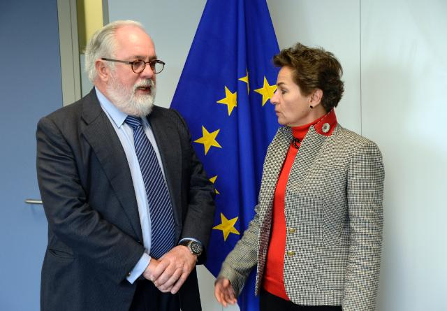Visit of Christiana Figueres, Executive Secretary of the UNFCCC, to the EC