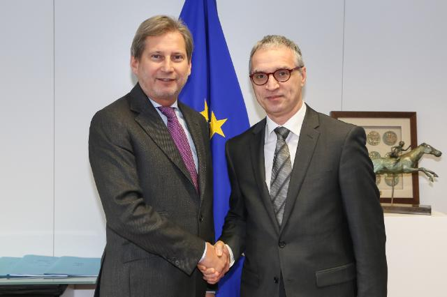 Visit of Goran Svilanović, Secretary General of the Regional Cooperation Council, to the EC