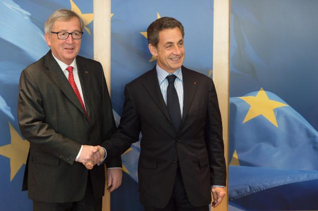 Visit of Nicolas Sarkozy, President of the UMP, to the EC