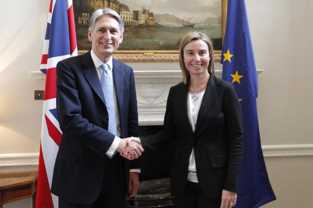 Visit of Federica Mogherini, Vice-President of the EC, to the United Kingdom