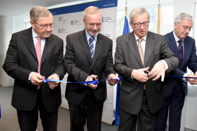 Participation of Jean-Claude Juncker, President of the EC, in the opening of the new Brussels office of the Permanent Representation of the EIB to the EU