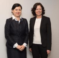 """Illustration of """"Visit of Solveig Horne, Norwegian Minister for Children, Equality and Social Inclusion, to the EC"""""""
