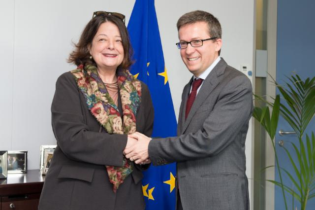Visit of Vera Lúcia Barrouin Machado, Head of the Mission of Brazil to the EU, to the EC