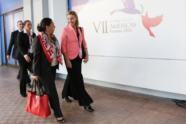 Visit of Federica Mogherini, Vice-President of the EC, to Panama