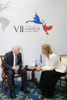 Visite de Federica Mogherini, vice-présidente de la CE, au Panama