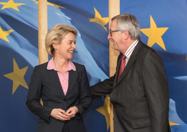 Visit of Ursula von der Leyen, German Federal Minister for Defence, to the EC