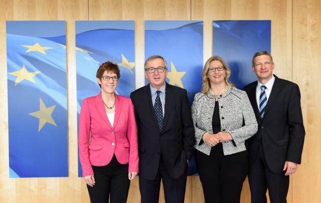 Visit of Annegret Kramp-Karrenbauer, Minister-President of Saarland, to the EC