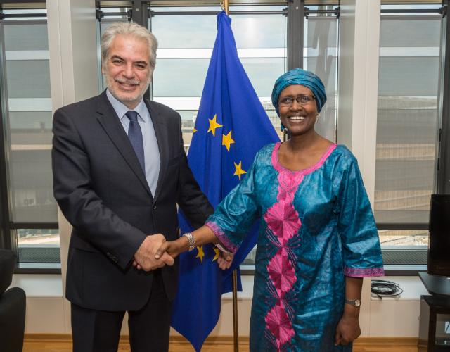 Visite de Winnie Byanyima, directrice générale d'Oxfam International, à la CE