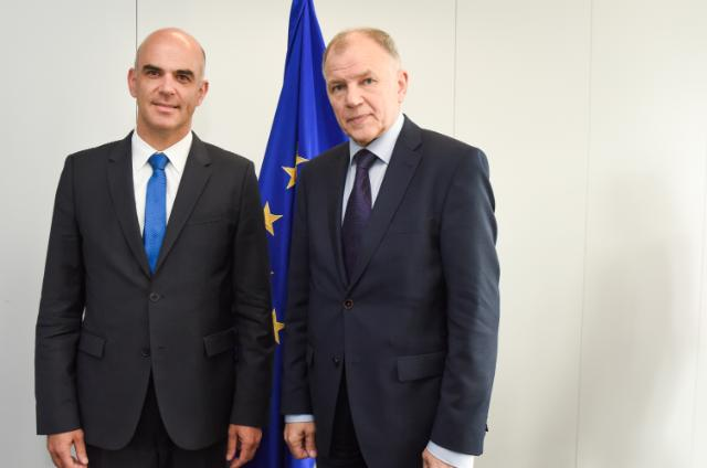 Visit of Alain Berset, Swiss Federal Councillor and Head of the Federal Department of Home Affairs, to the EC