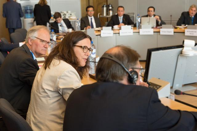 EU/Mercosur Ministerial meeting, Brussels, 11/06/2015