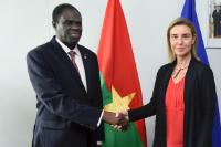 Signing of a budget support agreement between the EU and Burkina Faso for Burkina Faso's transitional government