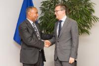 Visit of António Leão de Aguiar Correia e Silva, Cape Verdean Minister for Higher Education, Science and Innovation, to the EC