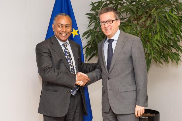 Visit of António Leão de Aguiar Correia e Silva, Cape Verdean Minister for Higher Education, Science and Innovation, to the EC