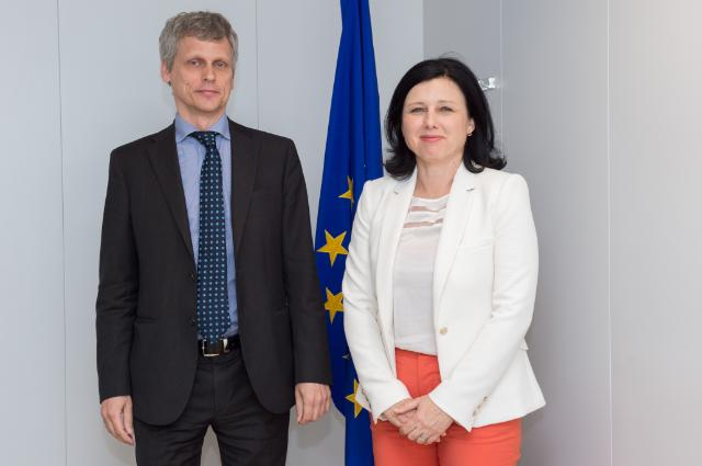 Visit of Ola Löfgren, Secretary of the European Judicial Network, to the EC