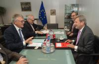 Visit of Nicolas Schmit, Luxembourgish Minister for Labour, Employment and the Social and Solidarity Economy, to the EC