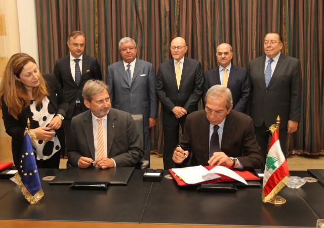 Visit of Johannes Hahn, Member of the EC, to Lebanon